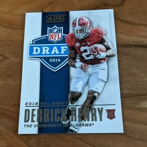 2016 Score NFL Draft Derrick Henry Rookie Card